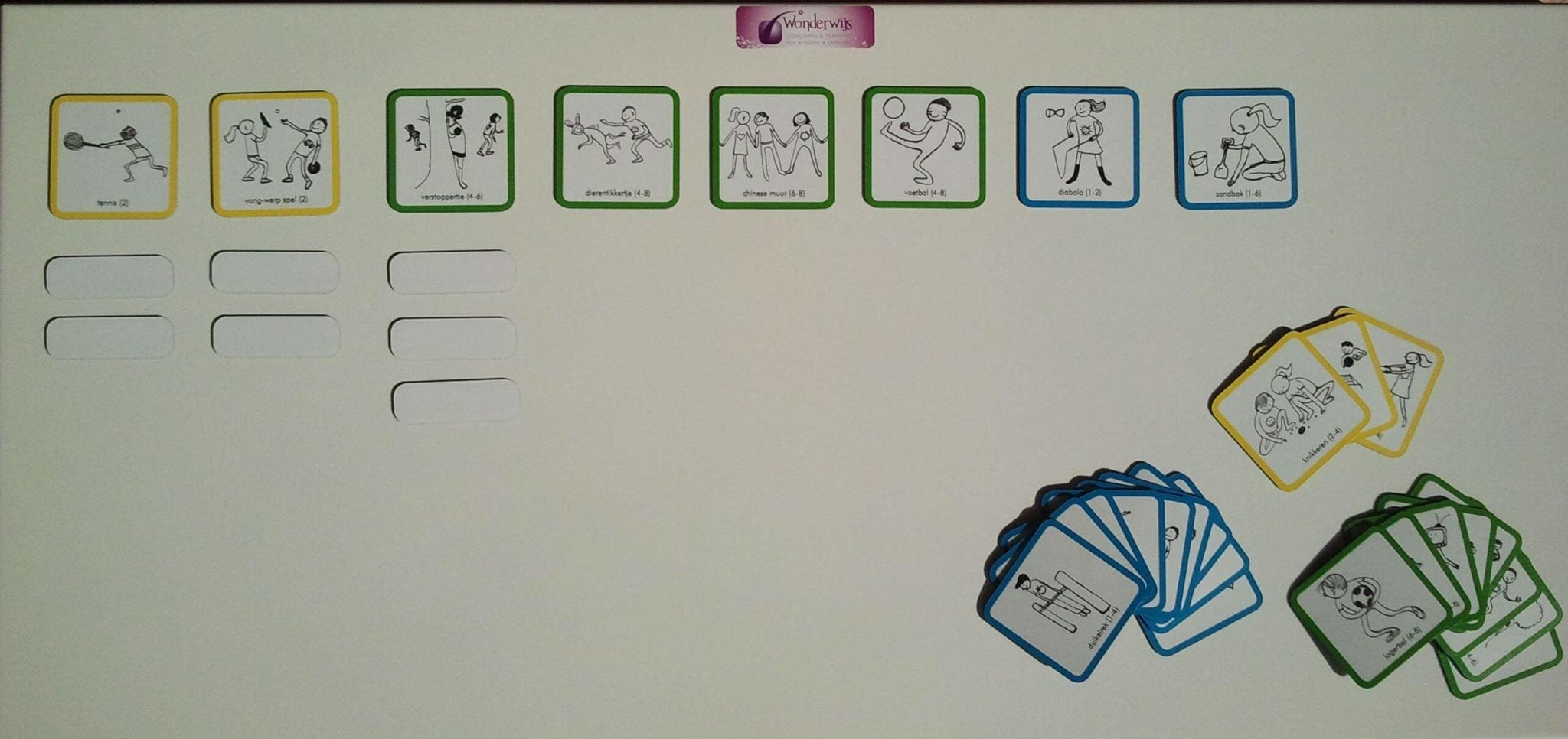Buitenspeel Planbord Gein Op Het Plein!